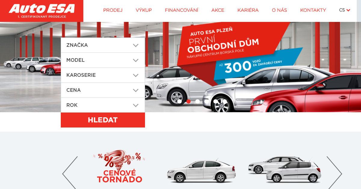 Auto ESA Karlovy Vary recenze zkušenosti hodnocení