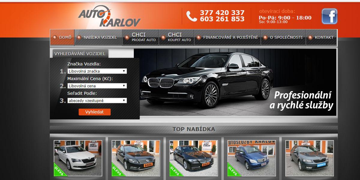 Auto Karlov Plzen autobazar recenze zkušenost hodnocení