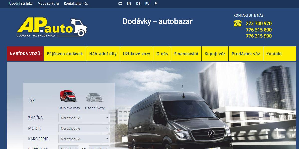 AP auto Praha recenze hodnocení zkušenosti Dodavky.cz